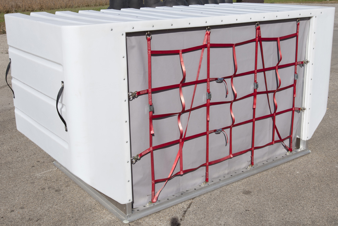 LD 8 Air Cargo Container DQF